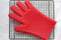硅树脂手套 库存图片