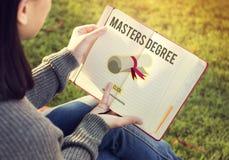 硕士学位知识教育毕业概念 库存图片