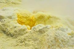 硫磺出气孔 图库摄影