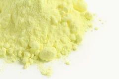 硫磺粉末 免版税库存图片
