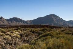 硫磺群岛(特内里费岛、坎那利岛,西班牙) 免版税库存照片