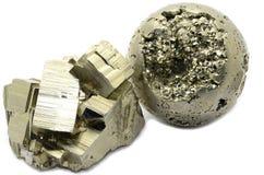 硫铁矿标本 库存图片
