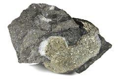 硫铁矿球 免版税库存照片