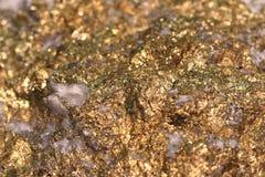 硫铁矿矿物汇集 免版税图库摄影