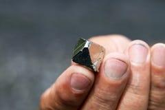 硫铁矿,哥伦比亚 库存图片
