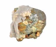 硫铁矿,美丽选拔 免版税库存图片