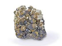 硫铁矿,美丽 库存图片