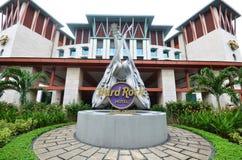 硬岩旅馆圣淘沙 免版税库存照片