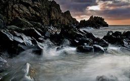 硬岩 免版税图库摄影