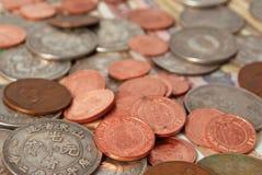 硬币。 库存图片