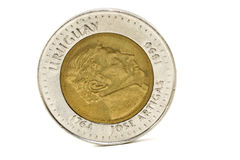 硬币乌拉圭 库存照片