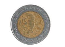 硬币五比索 库存图片