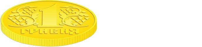 硬币侧视图 库存照片