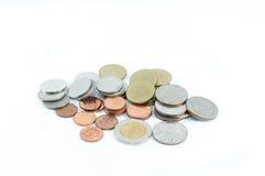 硬币在泰国 免版税库存照片