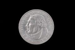 硬币德国老 免版税库存图片