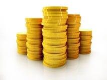 硬币批次 向量例证