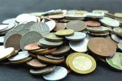 硬币收集 免版税库存照片