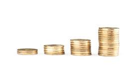 硬币栈 图库摄影