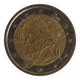 硬币欧元二 免版税库存图片
