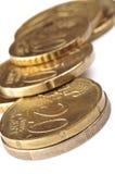 硬币欧元 免版税库存照片