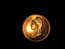 硬币法语 库存图片