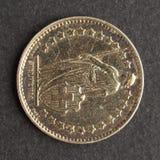 硬币瑞士 免版税库存照片