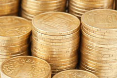 硬币纹理 免版税库存图片