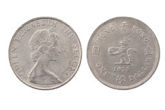 硬币美元一 免版税库存照片