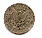 硬币老美国 库存图片