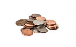 硬币金钱 免版税库存照片