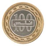 硬币巴林fils 库存图片