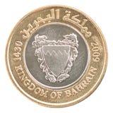 硬币巴林fils 免版税库存照片