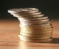 硬币 特写镜头 免版税库存图片