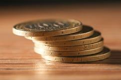 硬币 特写镜头 免版税图库摄影