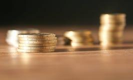 硬币 特写镜头 免版税库存照片