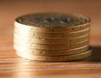 硬币 特写镜头 库存照片