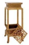 硬木明代式家具  免版税库存照片