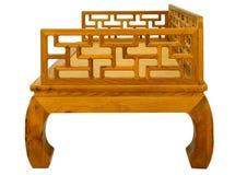 硬木明代式家具  免版税库存图片