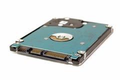 硬盘形状因子2 在一被隔绝的白色backgr的5英寸 库存图片