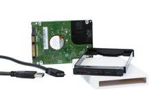 硬盘驱动器外在封入物事例 免版税库存照片
