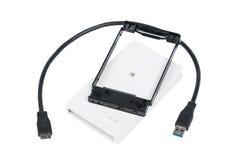 硬盘驱动器外在封入物事例 图库摄影