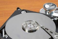 硬盘驱动器是数据存储 免版税库存照片