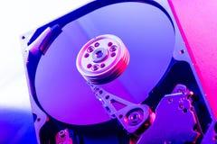 硬盘驱动器板材 免版税库存照片