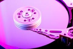 硬盘驱动器板材 库存图片