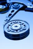 硬盘驱动器特写镜头 免版税库存照片
