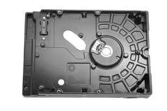 硬盘驱动器的后部与被去除的电路板的 免版税库存照片