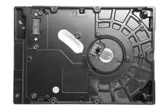 硬盘驱动器的后部与被去除的电路板的 图库摄影