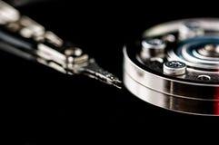 硬盘驱动器硬盘internals特写镜头datadisk 免版税库存照片