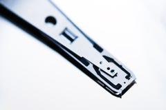 硬盘驱动器磁性读写头特写镜头 库存照片