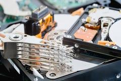 硬盘驱动器零件 免版税库存照片